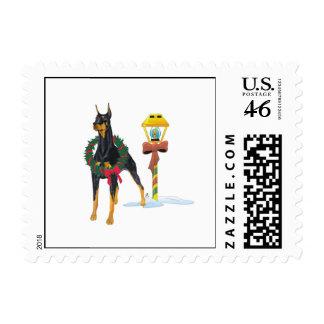 Doberman Pinscher Stamp