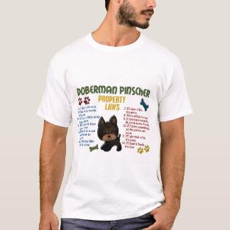 Doberman Pinscher Property Laws 4 T-Shirt