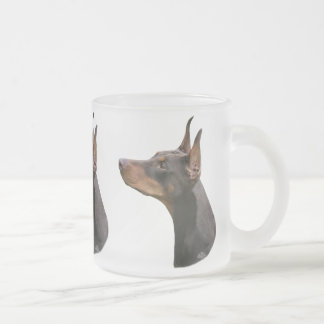 Doberman Pinscher- red/brown head Mug