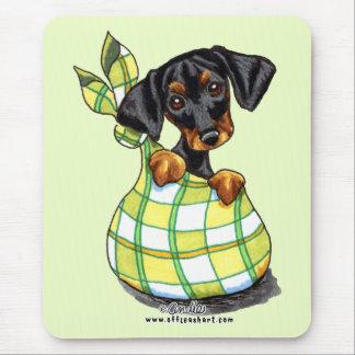 Doberman Pinscher Sack Puppy Mouse Pad
