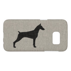Case-Mate Barely There Samsung Galaxy S7 Case with Doberman Pinscher Phone Cases design