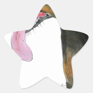 Doberman Pinscher, tony fernandes Star Sticker