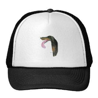 Doberman Pinscher, tony fernandes Trucker Hat