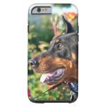 Doberman Pinscher Tough iPhone 6 Case