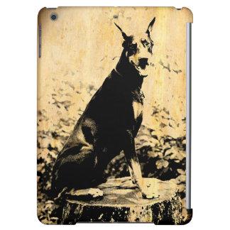Doberman Pinscher Vintage Old Photo iPad Air Case