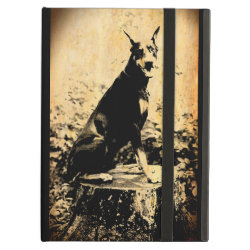 iPad Air Powis Case with Doberman Pinscher Phone Cases design