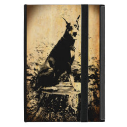 Powis iCase iPad Mini Case with Kickstand with Doberman Pinscher Phone Cases design