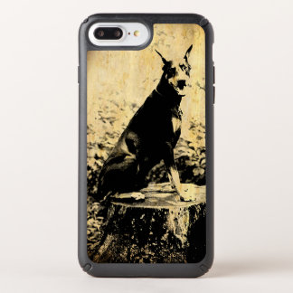 Doberman Pinscher Vintage Old Photo Speck iPhone Case