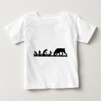 Doberman Pinscher Zombie Arm Baby T-Shirt
