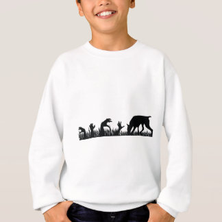 Doberman Pinscher Zombie Arm Sweatshirt