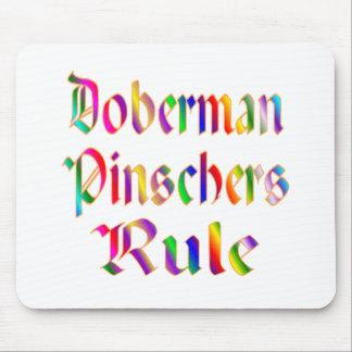 Doberman Pinschers Rule Mouse Pad