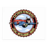 Doberman! Postcard