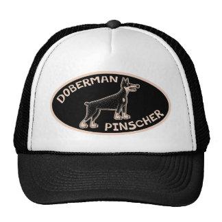 Doberman Primitive Trucker Hat