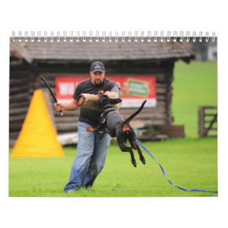 Doberman protection calendar