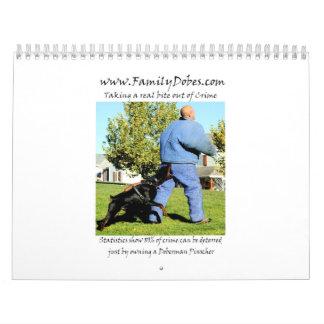 Doberman Protection calendar updated 2012