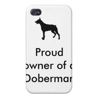 Doberman, Proud owner of a Doberman. iPhone 4/4S Covers