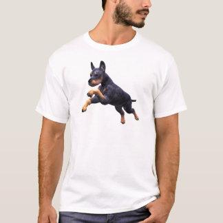 Doberman Puppy Leaping T-Shirt