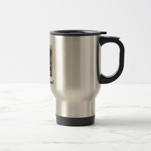 Doberman Puppy Yawning, Sleepy, Got Caffeine? Coffee Mug