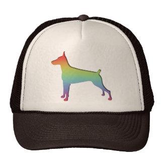 Doberman Rainbow Trucker Hat