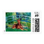 Doberman (red) - Bridge Stamp