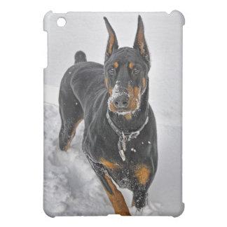 Doberman Rescue Expert Snowball Catcher  iPad Mini Covers