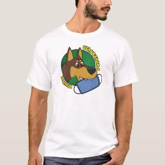 Doberman Schutzhund del dibujo animado Playera