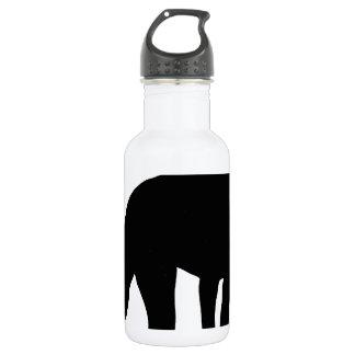 Doberman Silhouette Stainless Steel Water Bottle