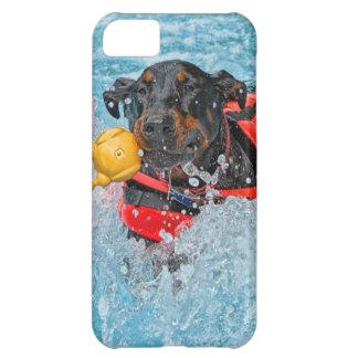 Doberman Swimming iPhone 5C Cover