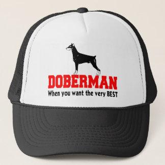 DOBERMAN THE VERY BEST TRUCKER HAT