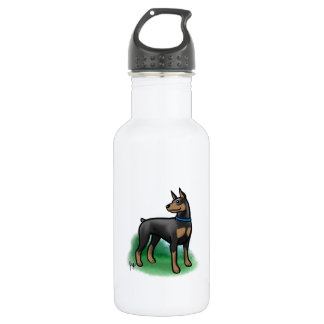 Doberman Water Bottle