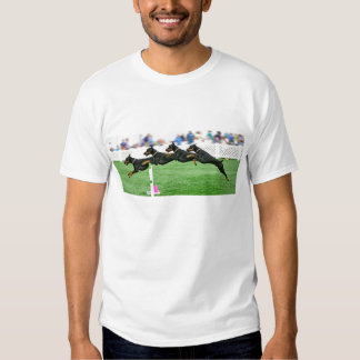Dobermann Agility jump composite T Shirt