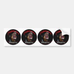 Dobermann Security stickers
