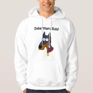 """""""Dobermans Rule!"""" Hoodie"""