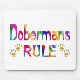 Dobermans Rule Mouse Pad