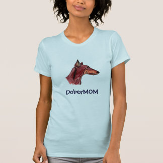 DoberMOM Camisetas