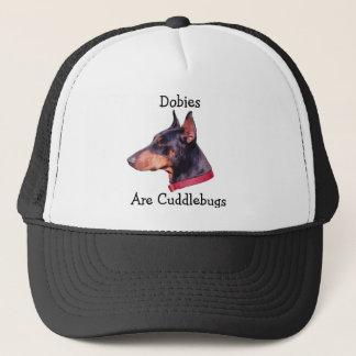 Dobies Are Cuddlebugs Doberman Dog Hat