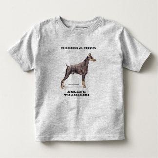 Dobies & Kids -- Doberman Pinscher Toddler T-shirt