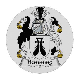 Dobladillar el escudo de la familia juego de fichas de póquer