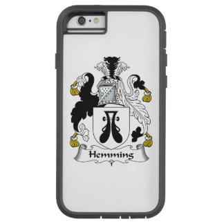 Dobladillar el escudo de la familia funda de iPhone 6 tough xtreme