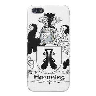 Dobladillar el escudo de la familia iPhone 5 funda