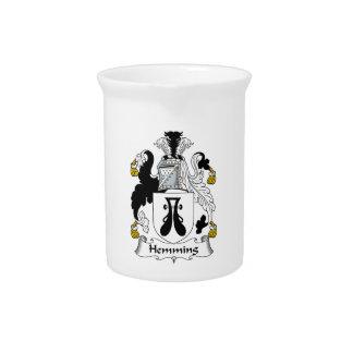 Dobladillar el escudo de la familia jarras