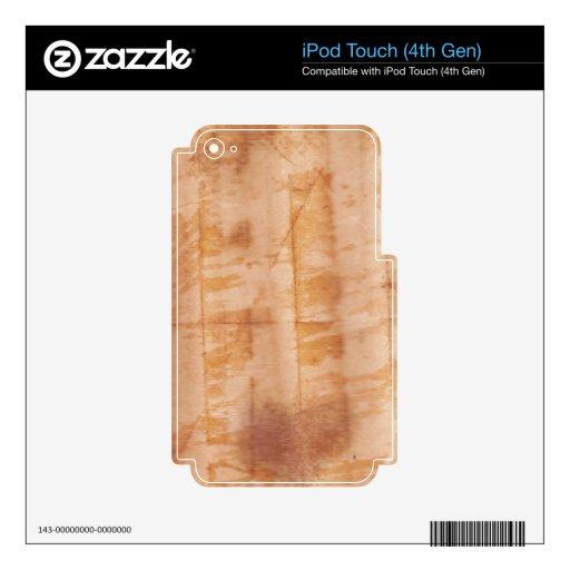 Doblado iPod Touch 4G Calcomanía