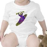 Doblador de la prueba del kajak traje de bebé