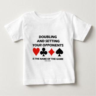 Doblando y fijando a sus opositores (puente) camiseta