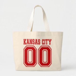 Doble cero de Kansas City Bolsas De Mano