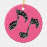 Doble el octavo adorno de navidad