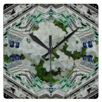 Doble inusual del arte del reloj de la torsión de