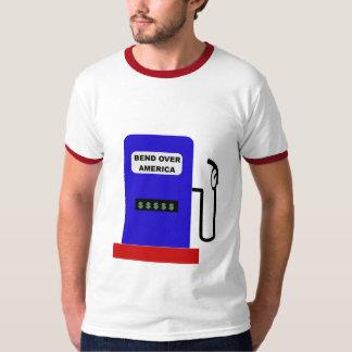 DOBLE SOBRE AMÉRICA - trabajo del lubricante de la Camisas