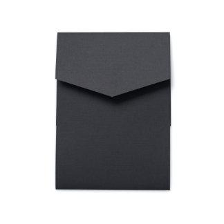 doblez del bolsillo del retrato de la invitación