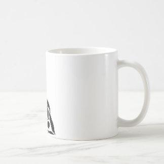 Doblez estático de la balanza de la parte taza de café